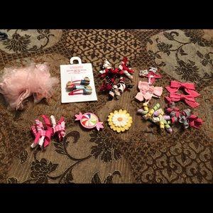 Gymboree set of 30 hair bows, ex con $10